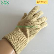Capa de acrílico de punto de cinco guantes de dedo