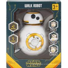 Tumbler Звездные войны Электрическая музыка Light Toy Игрушка Walkrobot