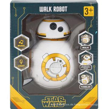 Trommel Star Wars Elektrische Musik Licht Spielzeug Walkrobot Spielzeug
