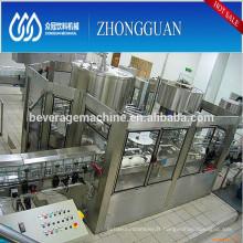 Choix automatique de qualité de la ligne de coulée d'eau minérale / potable