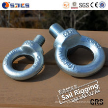M6 DIN580 Galvanized Lifting Steel Screw Eye Bolt