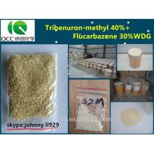 Herbizid Tribenuron-Methyl 400g / l + Flucarbazon 350g / l WDG-lq