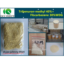 Herbicida tribenuron-metilo 400g / l + Flucarbazona 350g / l WDG-lq