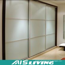 Double Color Wardrobe Design Closet Furniture (AIS-K019)