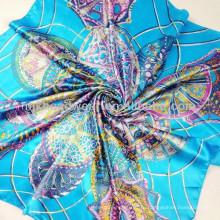Шелковый шарф оптового шарфа способа шифоновый