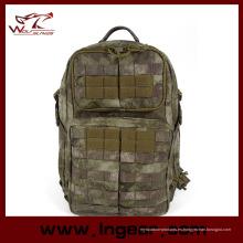 Nylon al aire libre escuela de impermeable deporte militar mochila moda # 023
