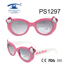 Kitty Cute Girl Kid Plastic Sunglasses (PS1297)