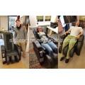 Fauteuil de massage commercial à jetons, chaise de massage 3D