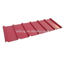 Classical Glazed Galvanized Steel Sheet Invert Box Wall Panel