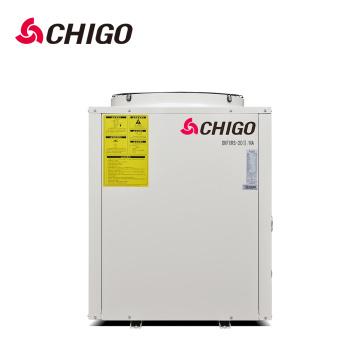 5000w 5kw 8kw 65kw compresseur onduleur EVI Air à l'eau pompes d'échangeur de chaleur pour le chauffage de chauffage de piscine