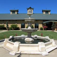 fontaine de champagne en pierre de marbre pour la conception