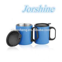 taza de acero al aire libre caliente impresa precio respetuoso del medio ambiente