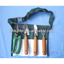 Conjunto de ferramentas de jardim de 4 peças
