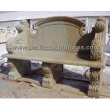 Outdoor Stone Bench, Garden Stone Chair (QTC003)
