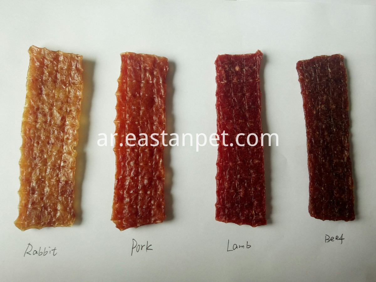 pork,beef rabbit,lamb jerky