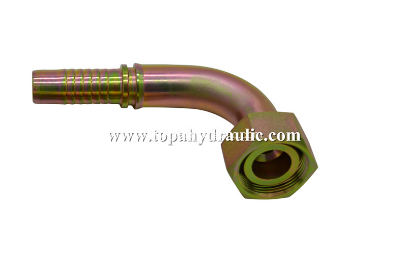 stainless steel metric hose parker hydraulic fittings
