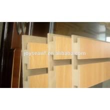 Slot mdf Board mit Aluminium