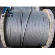 Fil de fer galvanisé pour clôture, fil de reliure et arbre de noel