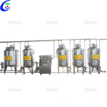Milk pasteurizer machine production line