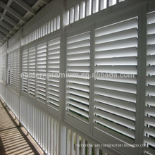 adjustable louver customize size of the shutter inside the glass