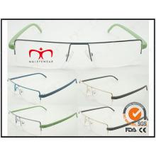 Heiße verkaufende bunte Tr90 Tempel Metall optische Rahmen (WRM503031)