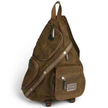 Army Canvas Sling Bag voor heren
