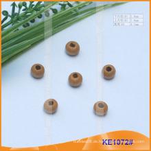 Mode Holzschnur Ende oder Perle für Kleider KE1072 #