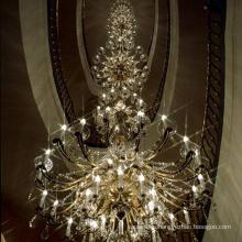 American retro decoration crystal villa lamps lanterns lighting creative personality industrial chandelier