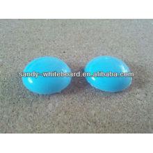 Botão magnético de plástico, ímã revestido de plástico, botão magnético redondo, acessórios de quadro branco, 20mm XD-PJ201-4