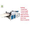 PVC film roll to sheet cutting machine
