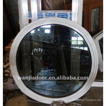 Fenêtres rondes fixes en aluminium de petite taille