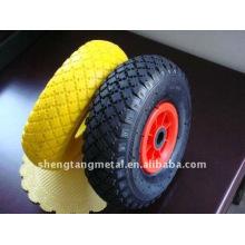 roues en caoutchouc mousse d'unité centrale