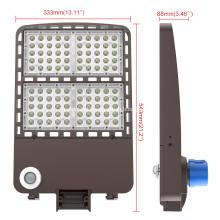 Lâmpada de rua led impermeável para exterior 200w luminária para caixa de sapatos