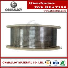 Liga de alumínio de níquel fio de pulverização térmica Ni95al5 para Bond Coat
