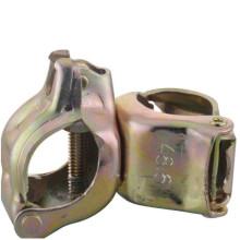 EN74 BS1139 Pressed Double Couper   90 degree scaffolding clamp  Scaffolding coupler
