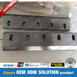 Tungsten Carbide Inlaid Shredder Blade