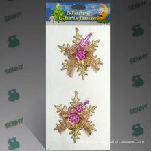10см золото пластиковый Рождественские украшения Гуанчжоу