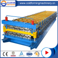 Double-Deck Steel Roofing Tiles Cold Forming Machine