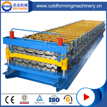 Aluminum Profile Roof Double Layer Roll Forming Machine
