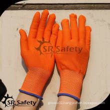 SRSAFETY 13 gauge Orange nylon/polyester best glove liner wholesales