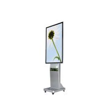 Leitor LCD digital à prova d'água para tela de publicidade externa