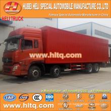DONGFENG NEW DFL 8x4 270hp 30 tons van food truck
