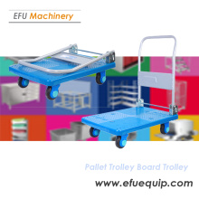 Stainless Steel Foldable Pallet Trolley