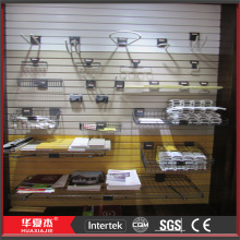 Scratch Resistant Plastic Slatwall Accessories Suitable For Outdoor