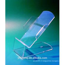 Support téléphone acrylique sur mesure