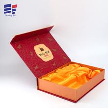 Caixa de presente de empacotamento do chá dobrável de cartão personalizado