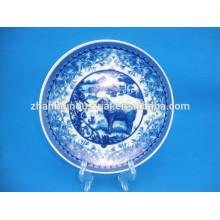 Plaque décorative en céramique chaude avec décalque personnalisée
