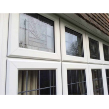 Hot selling cheap show room double glass basement window high-end aluminum window and door wall curved window