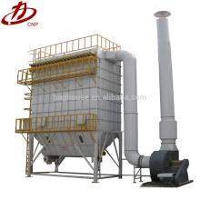 Equipamento industrial de limpeza de pó para processamento de móveis