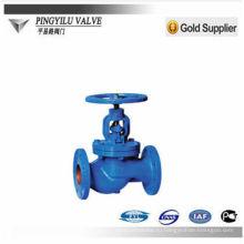Серый железный шаровой клапан pn16 с фабрикой цены высокого качества